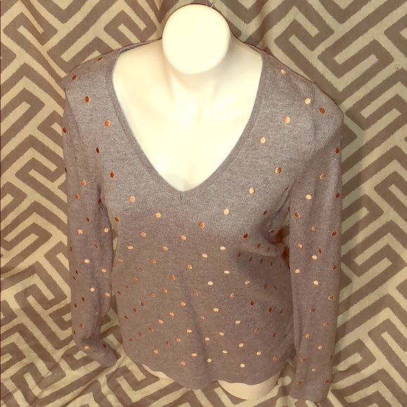 Old Navy Sweaters - Old Navy Long sleeve polka dot sweater